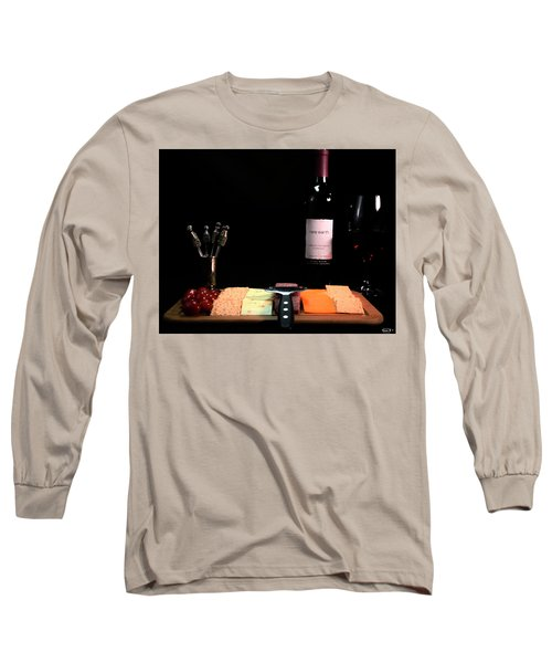 Snacks Are Served  Long Sleeve T-Shirt