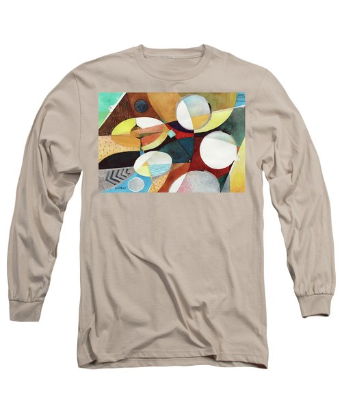Snare And Hi-hat Long Sleeve T-Shirt