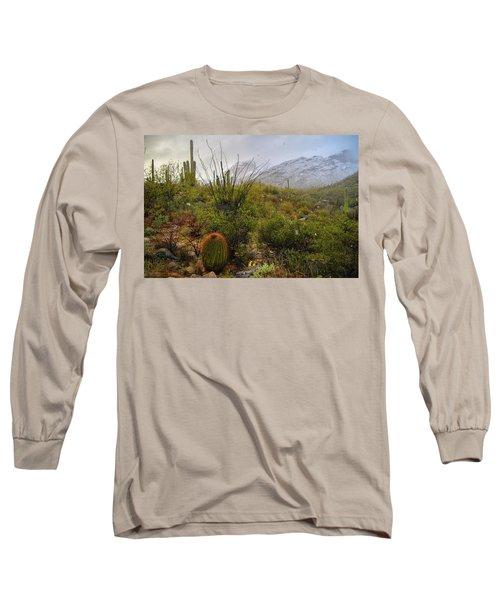 Snow In The Desert Long Sleeve T-Shirt