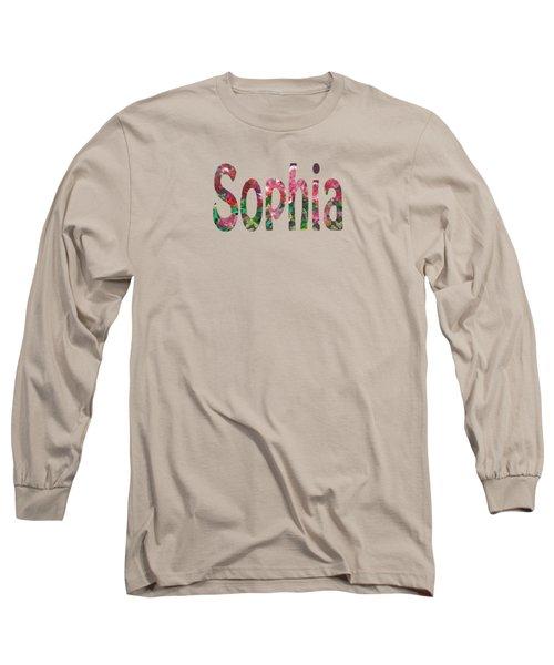 Sophia Long Sleeve T-Shirt