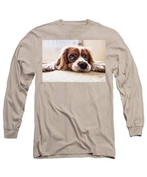 Spaniel Puppy Dwp2785074 Long Sleeve T-Shirt