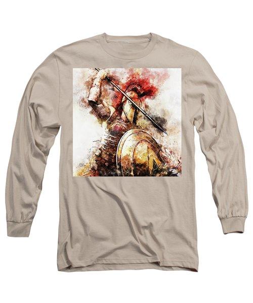 Spartan Hoplite - 54 Long Sleeve T-Shirt