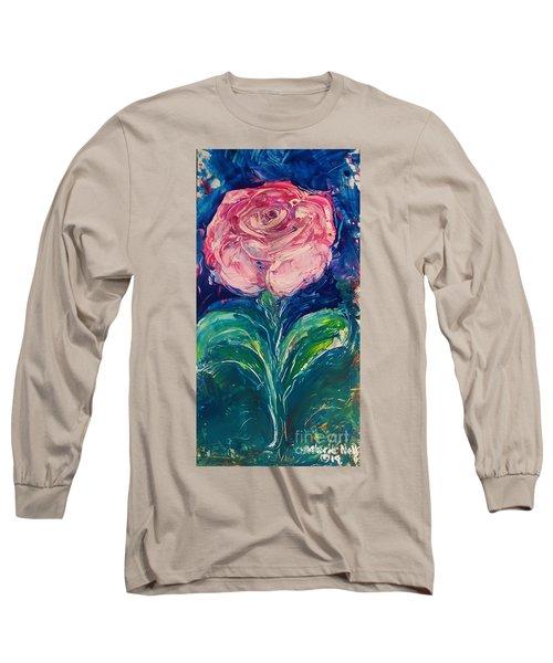 Standing Rose Long Sleeve T-Shirt