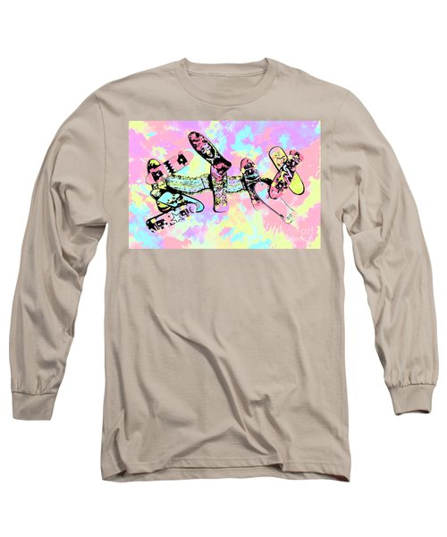 Street Sk8 Pop Art Long Sleeve T-Shirt