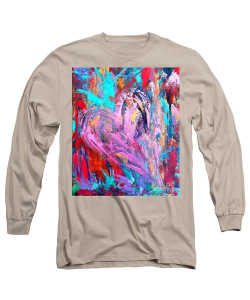 Strength Of My Heart Long Sleeve T-Shirt