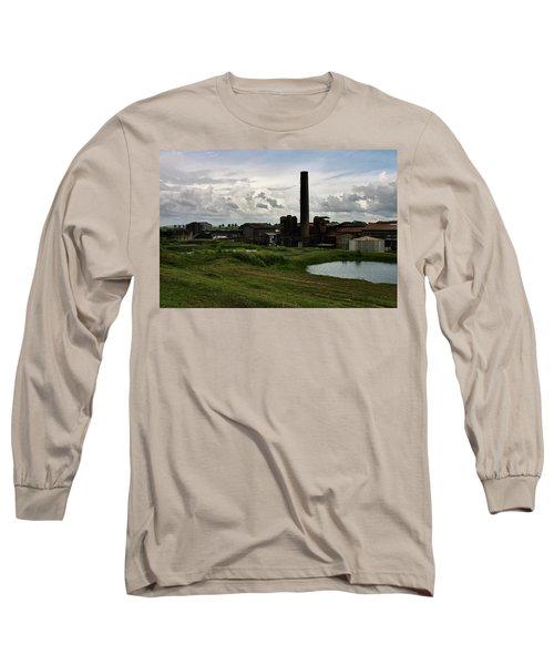 Sugar Factory I, Usine Ste. Madeleine Long Sleeve T-Shirt