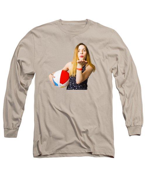 Summer And Beach Love Long Sleeve T-Shirt