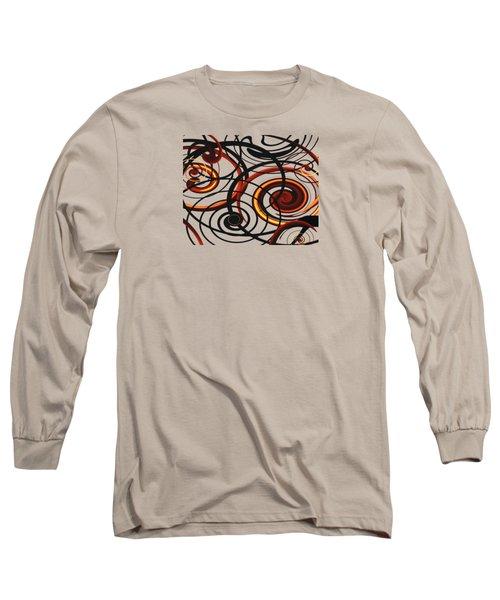 Sun Swirls Long Sleeve T-Shirt