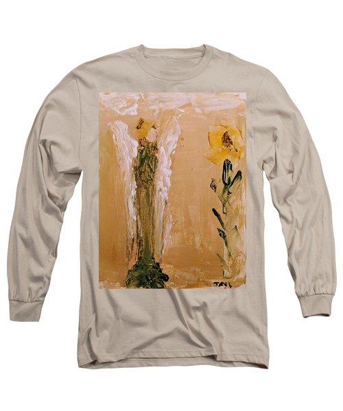 Sunflower Angel Long Sleeve T-Shirt