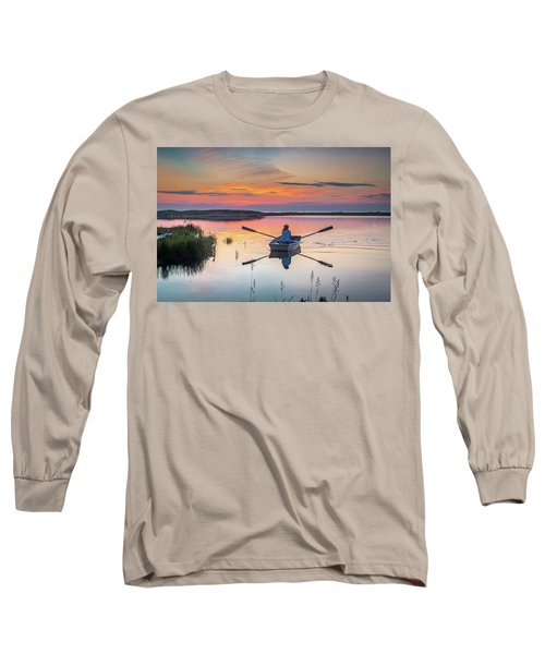 Sunset  Crossing Long Sleeve T-Shirt