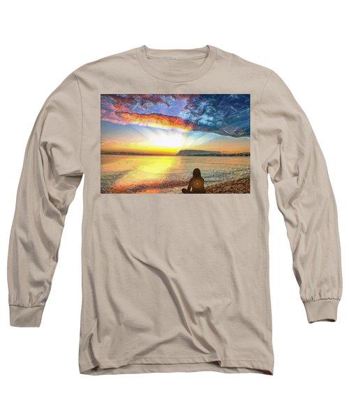 Sunset Meditation Long Sleeve T-Shirt