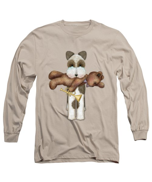 T Is For Terrier And Teddy Long Sleeve T-Shirt