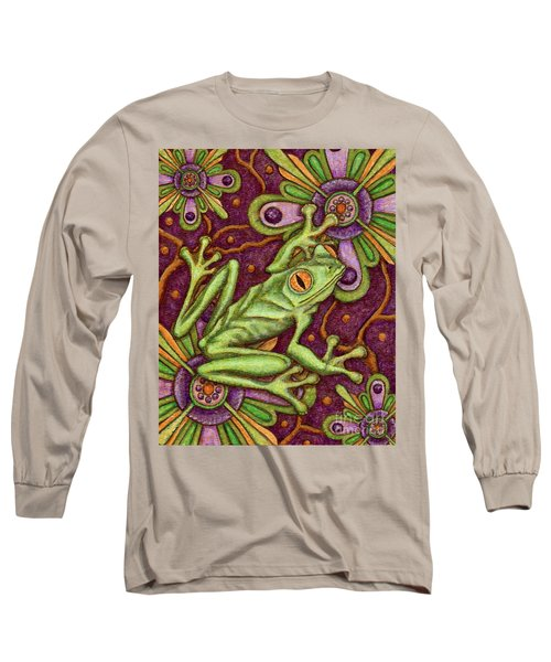 Tapestry Frog Long Sleeve T-Shirt