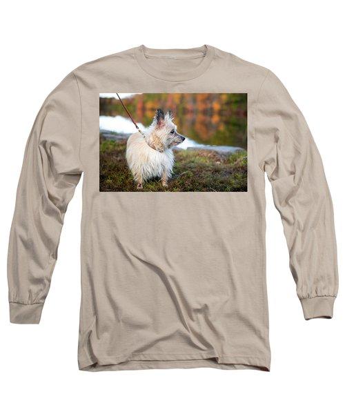 Long Sleeve T-Shirt featuring the photograph Tasha 5 by Brian Hale