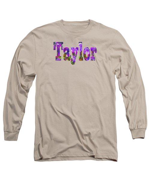 Taylor Long Sleeve T-Shirt