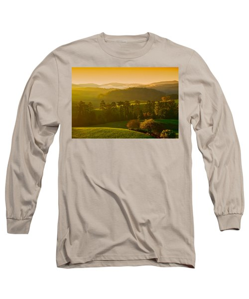 Smokey Mountain Sunrise Long Sleeve T-Shirt