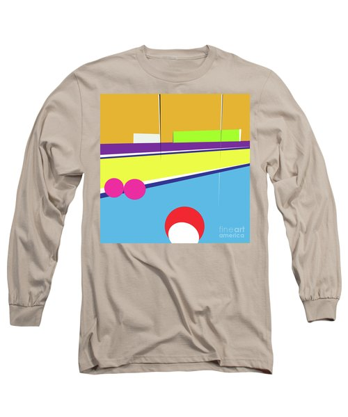 Tennis In Abstraction Long Sleeve T-Shirt