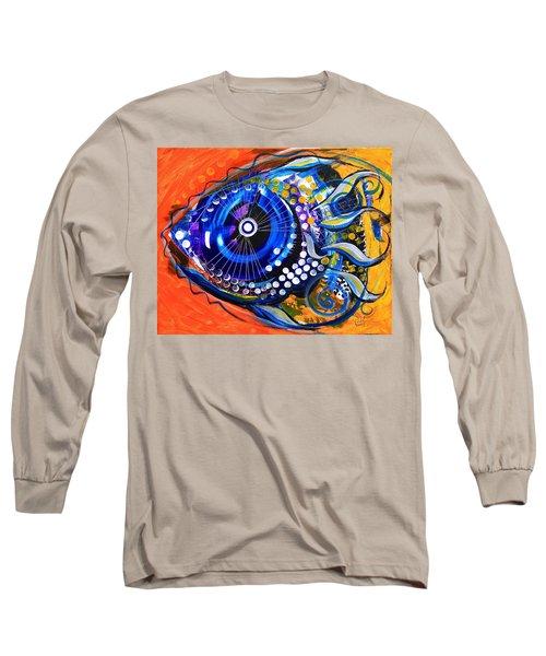 Tenured Acrimonious Fish Long Sleeve T-Shirt
