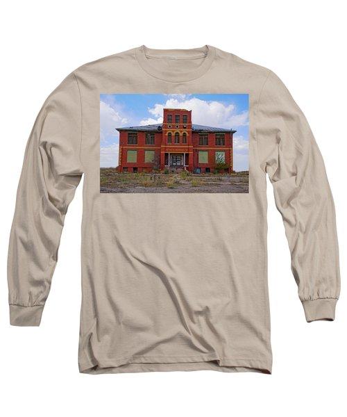 Texas Ghost Town School  Long Sleeve T-Shirt