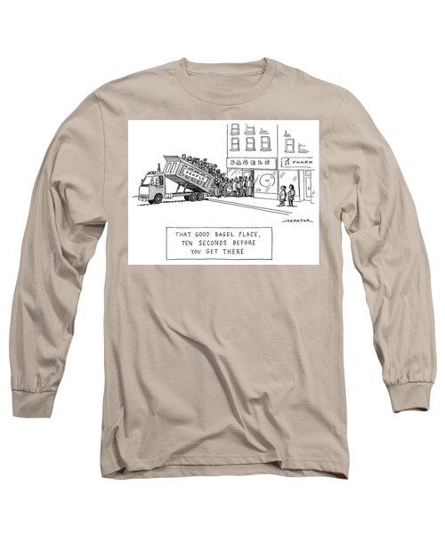 That Good Bagel Place Long Sleeve T-Shirt