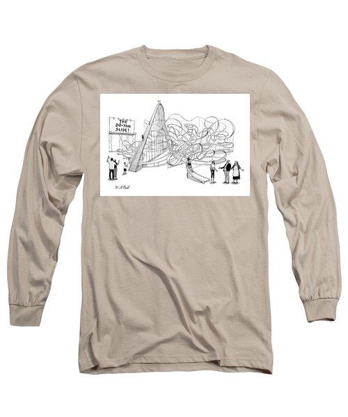 The 30-year Slide Long Sleeve T-Shirt