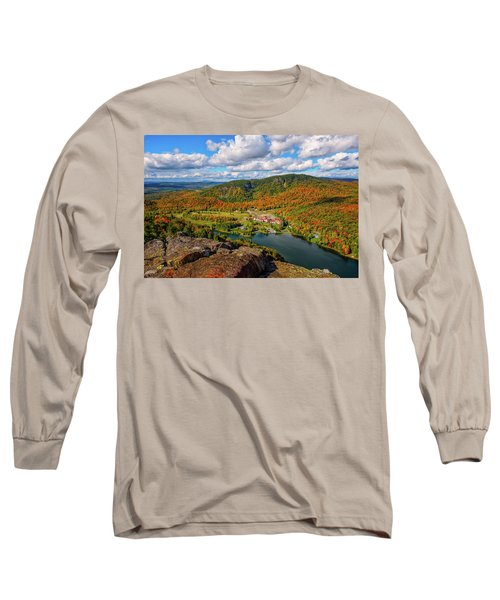 The Balsams Resort Autumn. Long Sleeve T-Shirt