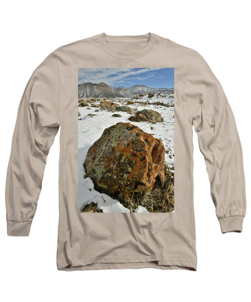 The Book Cliff's Colorful Boulders Long Sleeve T-Shirt