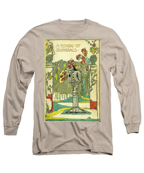Cover Design For The Book Of Old Sundials Long Sleeve T-Shirt