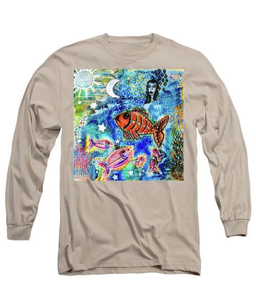 The Day The Stars Fell Into The Ocean Long Sleeve T-Shirt
