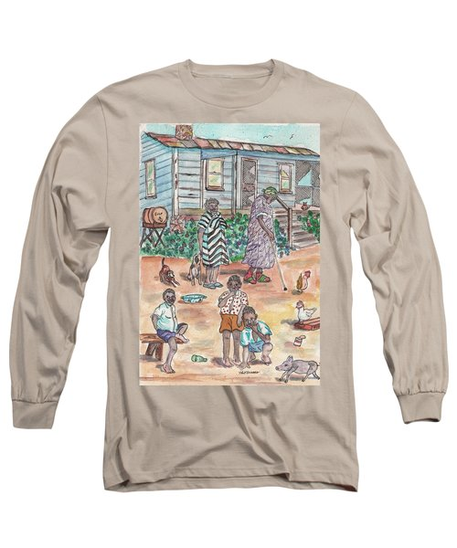 The Family On Magnolia Road Long Sleeve T-Shirt