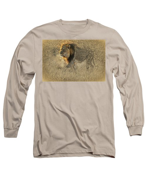 The King Stalks Long Sleeve T-Shirt
