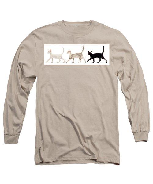 The Kits Parade - Three Long Sleeve T-Shirt