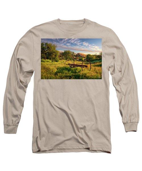 The Old Hay Rake Long Sleeve T-Shirt