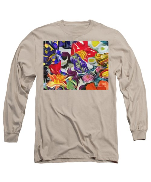 The Power Of Flowers Long Sleeve T-Shirt