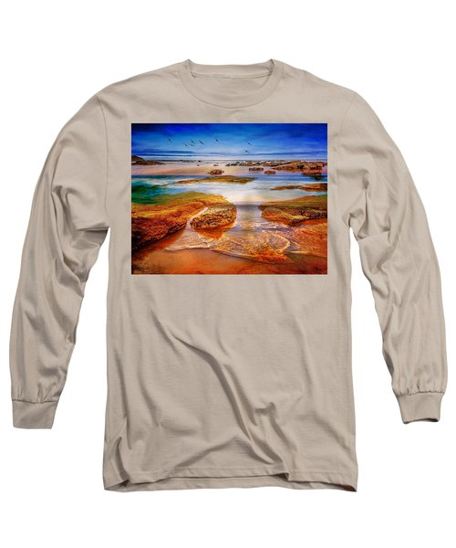 The Silent Morning Tide Long Sleeve T-Shirt