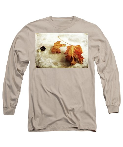Long Sleeve T-Shirt featuring the photograph The Sound Of Autumn by Randi Grace Nilsberg