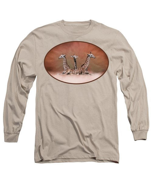 The Watchers - Three Giraffes Long Sleeve T-Shirt