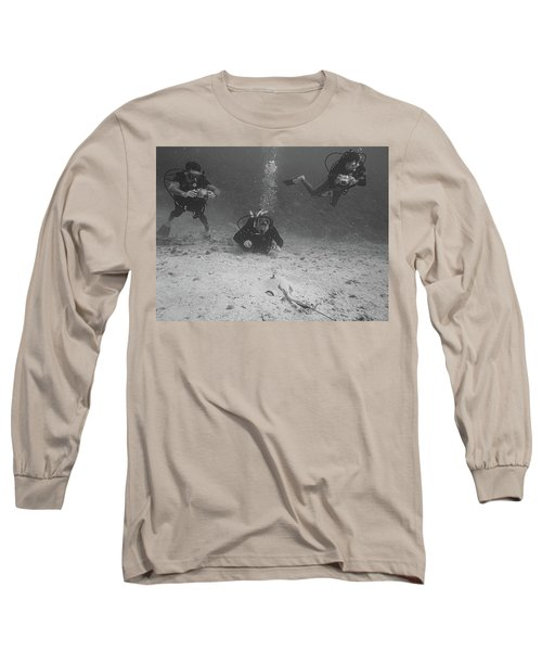 Three Guys And A Ray Long Sleeve T-Shirt