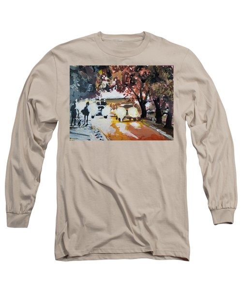 Early Morning Walk Long Sleeve T-Shirt