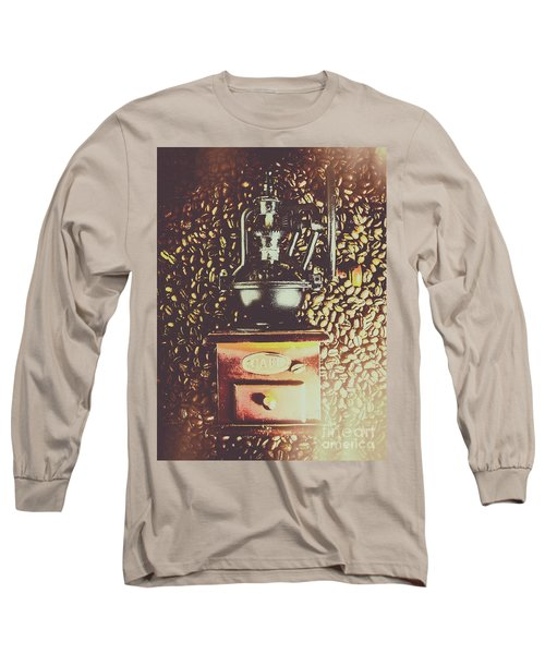 Traditional Cafe Long Sleeve T-Shirt
