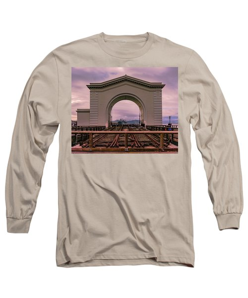 Train To Nowhere Long Sleeve T-Shirt