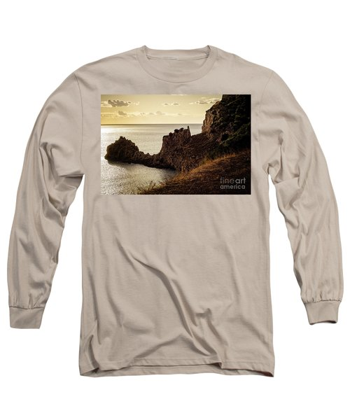 Tranquil Mediterranean Sunset    Long Sleeve T-Shirt