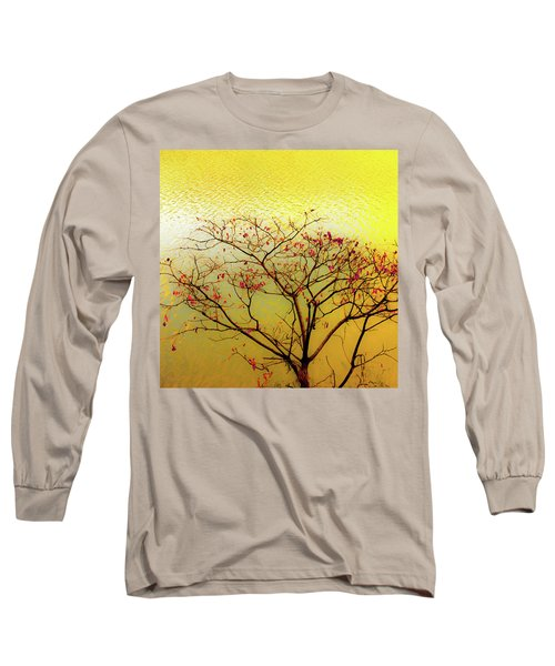 Tree And Water 2 Long Sleeve T-Shirt