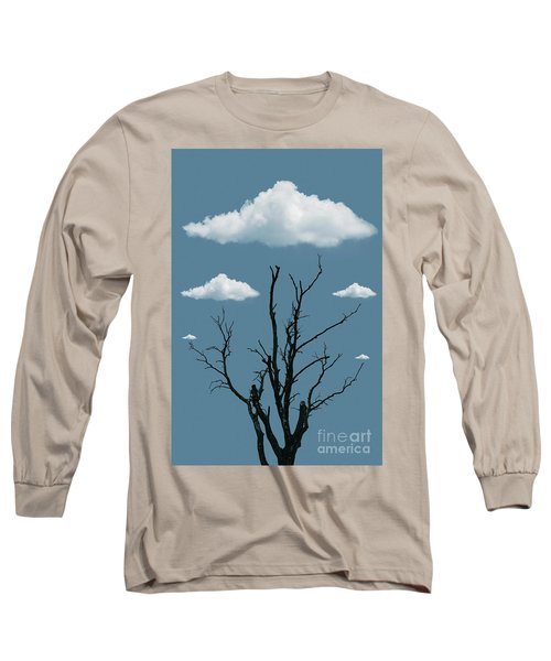 Tree In The Clouds Long Sleeve T-Shirt