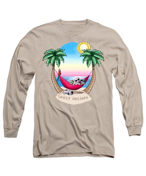 Kiniart Havanese Tropical Dreams Long Sleeve T-Shirt