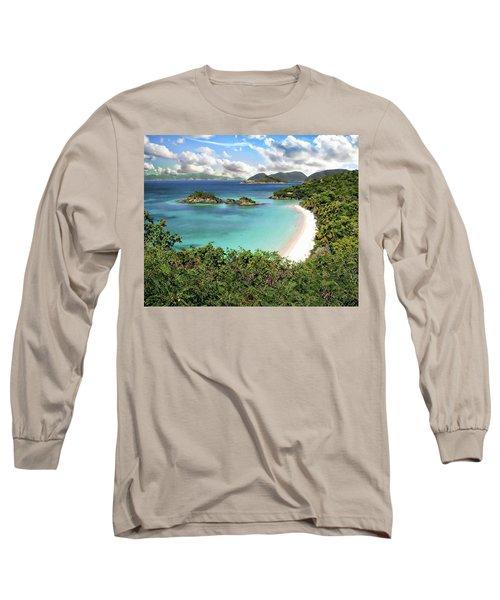 Trunk Bay Long Sleeve T-Shirt