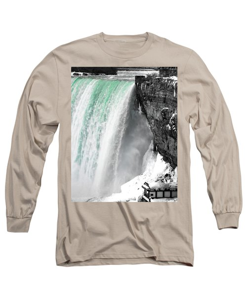 Turquoise Falls Long Sleeve T-Shirt