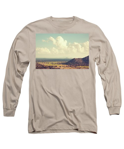 View From Mihintale Long Sleeve T-Shirt