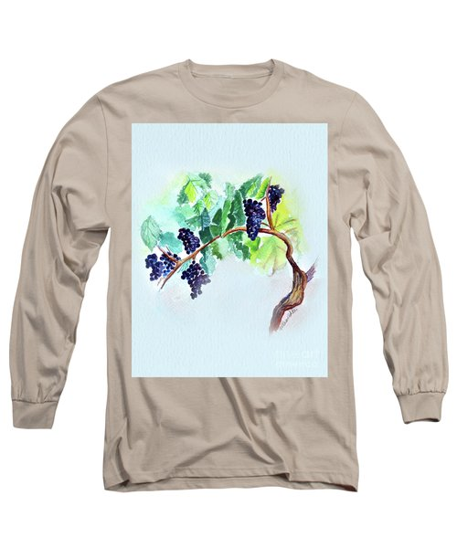 Vine And Branch Long Sleeve T-Shirt