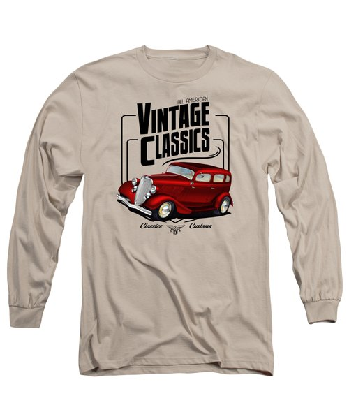 Vintage Classic Delivery Long Sleeve T-Shirt